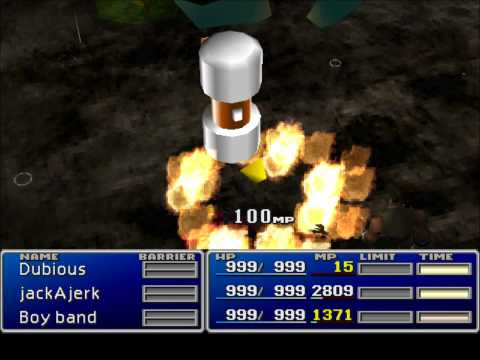 Final Fantasy VII Most Epic Battle - Hardcore Hack - Beating Trash Weapon, God, Sephi's Yummy Mummy
