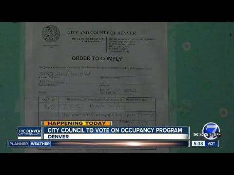 Denver safe occupancy program