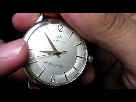 Hamilton Thin-O-Matic Vintage watch review