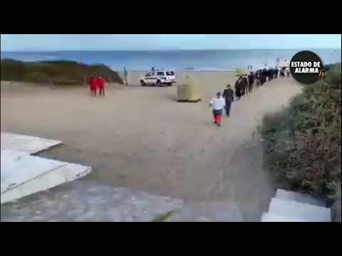 ? Este vídeo NO lo verás en los MEDIOS PROGRES. Canarias, la Lampedusa española.
