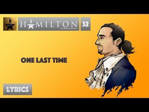 #32 Hamilton - One Last Time [[MUSIC LYRICS]]