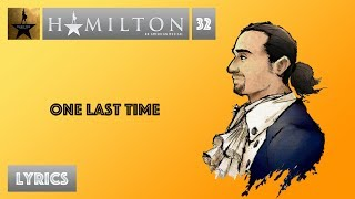 #32 Hamilton - One Last Time [[MUSIC LYRICS]]