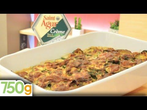 gratin-de-courgettes-à-la-crème-de-saint-agur---750g