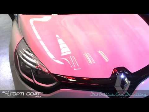 Renault Clio RS Definitive Sydney Opti Coat Spray Gun Permanent Paint Protection Treatment Definitiv
