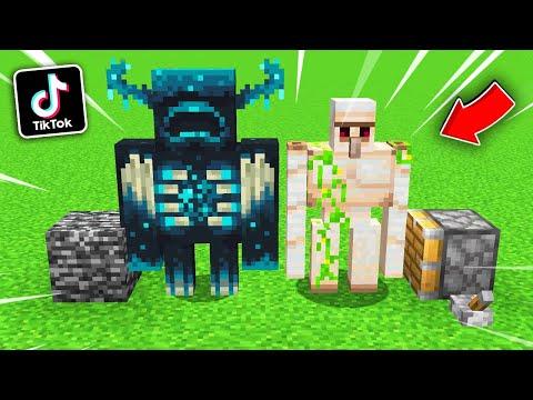 """🔥โคตรเจ๋ง!!【""""สิ่งที่คุณอาจจะยังไม่รู้ว่าทำได้ในมายคราฟ!! #100""""】  (Minecraft Building)"""