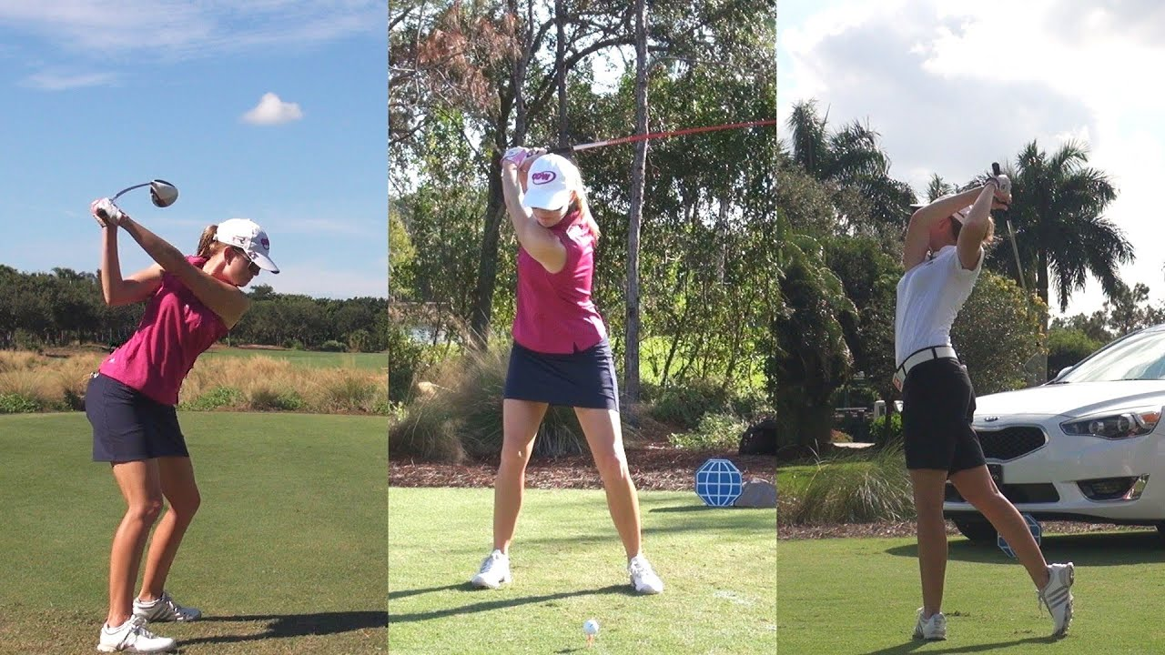 Paula Creamer Golf Swing