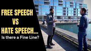 TORONTO REACTS to France attacks - Free Speech vs Hate Speech...is there a fine line??