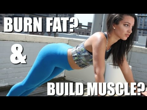 Burn Fat & Build Muscle At The Same Time??