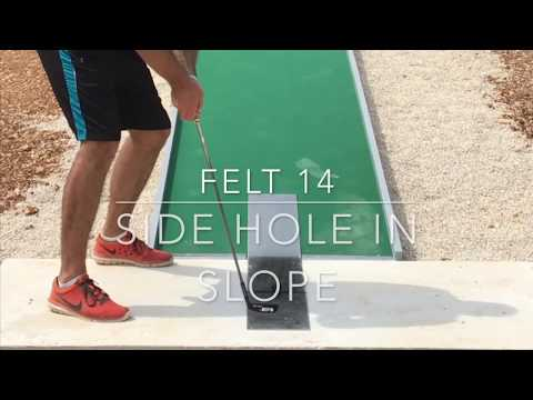 Felt Lane 14 - Side Hole in Slope (World Championships 2017)