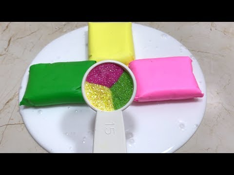 CLAY SLIME MIXING - Most Satisfying Slime Video compilation 5 !! Tom Slime