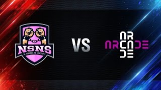 NS-NS vs Arcade eSports - day 3 week 5 Season I Gold Series WGL RU 2016/17
