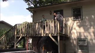 How To Tear Down An Old Deck