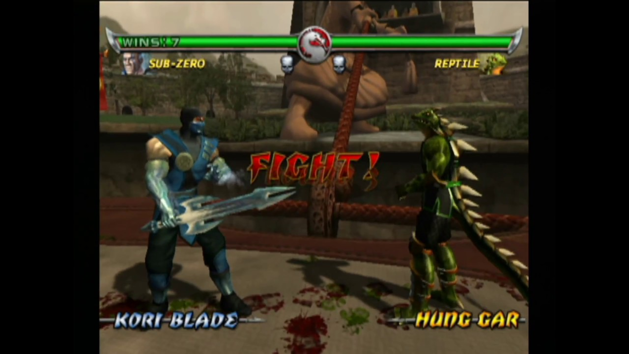 Sub Zero Mkda: MKWarehouse: Mortal Kombat: Deadly Alliance