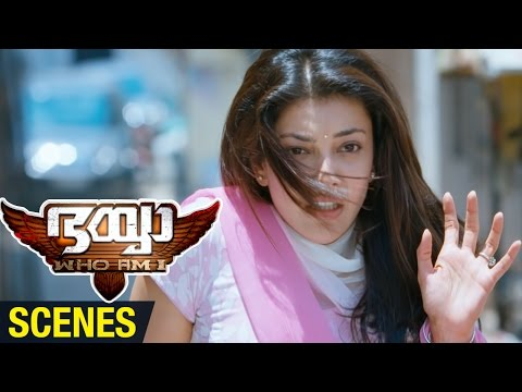 Bhaiyya My Brother Malayalam Movie Scenes | Allu Arjun Saves Kajal Aggarwal | Ram Charan | DSP