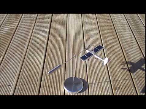 Rotating Solar Plane