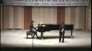 Han Kim plays Concertino in E flat op.26 by Weber - Part I