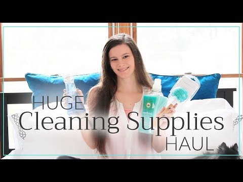 Huge Cleaning Supplies Haul!