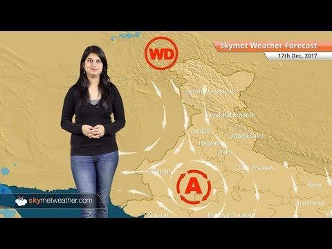 [Hindi] 17 दिसंबर मौसम पूर्वानुमान: पंजाब, राजस्थान, दिल्ली और उत्तर प्रदेश में कोहरे के आसार