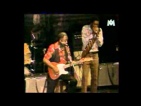 Muddy Waters w/ Mojo Buford on Harp, Chicago 1981