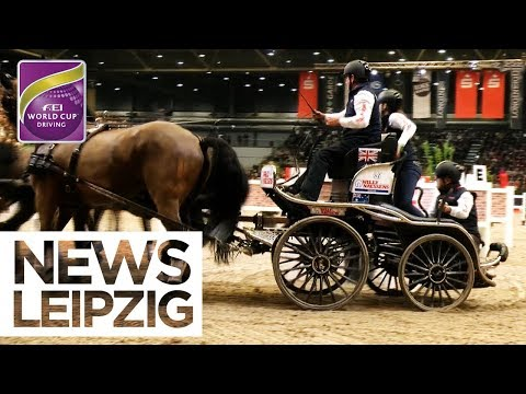 Jérôme Voutaz wins in Leipzig & qualifies for the final | News - FEI World Cup™ Driving