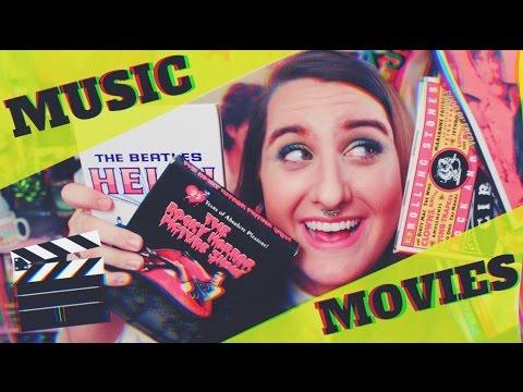 FAVORITE MUSIC MOVIES | MUSIC NERD  SECRETS | 2017