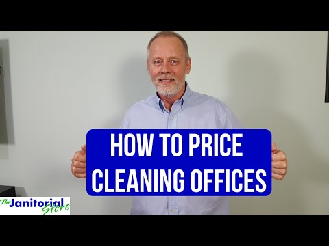 How To Price A 2,400 Square Foot Office Space: How To Price Cleaning Offices