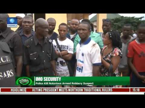 Imo Security: Police Kill Notorious Armed Robbery Suspect