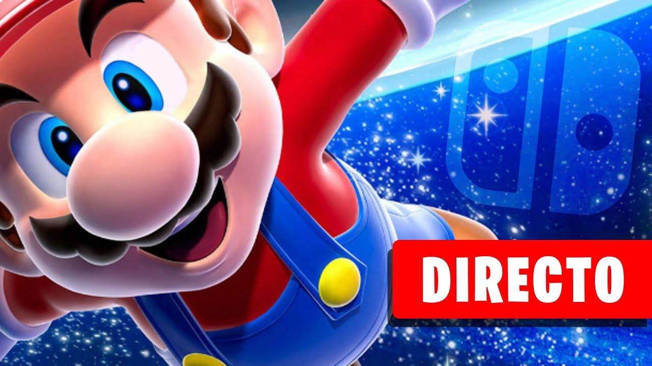 jugando a SUPER MARIO GALAXY pero en Nintendo SWITCH en DIRECTO 😍 (se ve precioso...)
