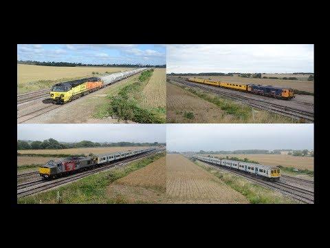 Midlands Motive Power Highlights   August 2017 HD