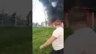 Banjaluka- Izgorela kuća u Motikama, vatrogasci se bore sa vatrom 7 10 2016