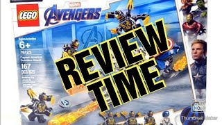 Lego avengers endgame captain america : Outriders attack lego set review