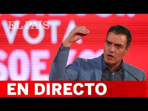 DIRECTO PSOE | Cierre De Campaña De PEDRO SÁNCHEZ En BARCELONA