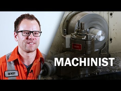 Job Talks - Machinist - Ben Goes Into Detail About His Machinist Job
