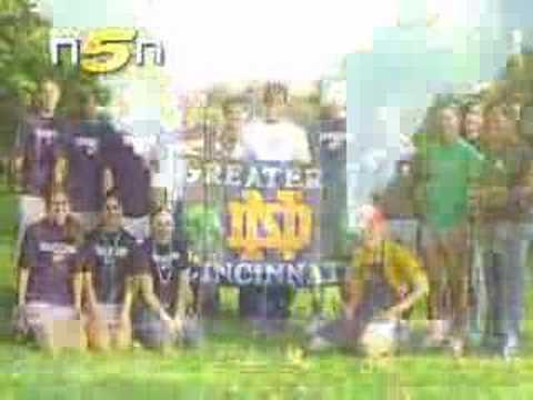 Notre Dame Football Big In Cincinnati