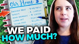 Our House Price & Mortgage Details | Buying Our First Home