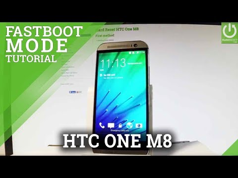 Fastboot Mode HTC One M8 - HardReset info