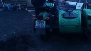 Мотоцикл Урал/Motorcycle Ural