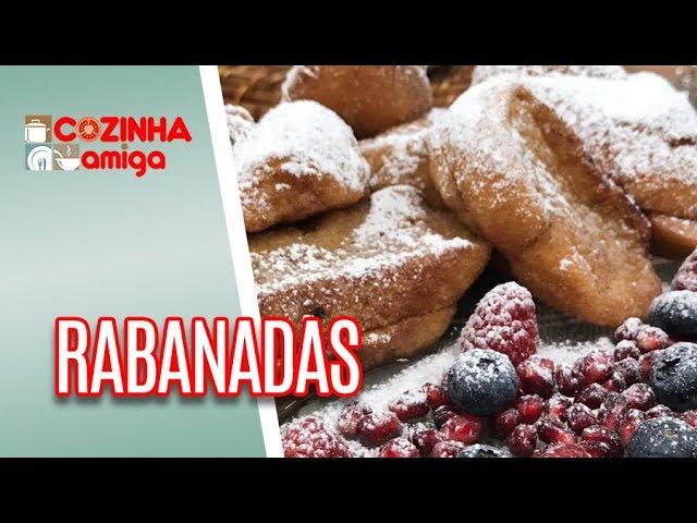 Rabanadas doce e salgada - Giuliana Giunti | Cozinha Amiga (17/12/18)