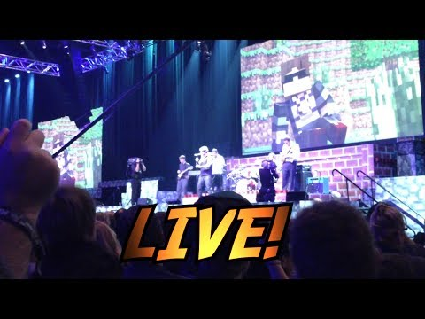 """New World"" LIVE: Minecon 2013 Opening Ceremony w/ SkyDoesMinecraft"