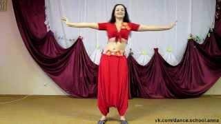 Первый урок Танца живота (восточных танцев) от Анны Шитовой