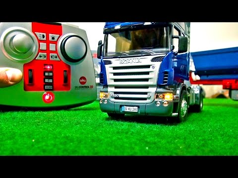 Rc Truck Scania! How does it Function! First USE! SIKU Control! RC Truck Action!