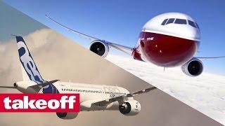 Airbus / Boeing - Current Aircraft Overview (English voice over, sous-titres français)