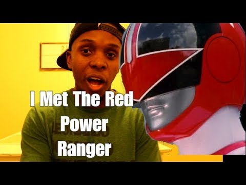 I Met The Red Power Ranger