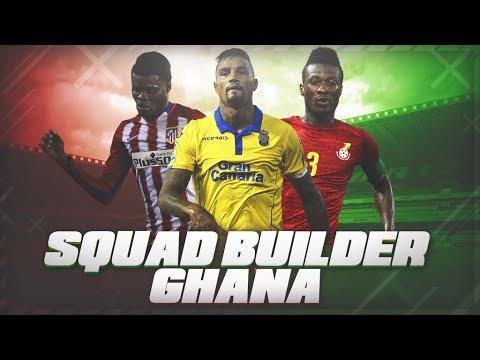 SQUAD BUILDER GHANA !! EQUIPAZO CON VARIOS TOTS !!