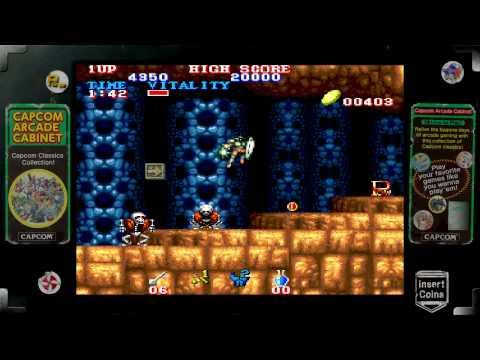 Capcom Arcade Cabinet (Xbox Live Arcade) Sample: Game Pack 1