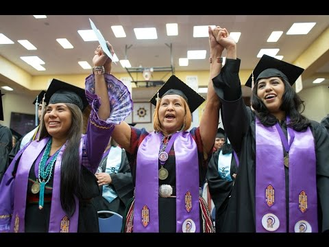 Haskell Indian Nations University commencement 2015