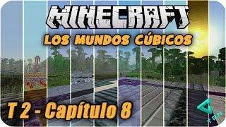 Minecraft - Los Mundos Cúbicos - T2 - Capitulo 8 - Constantine El Rey Creeper - 1080pHD