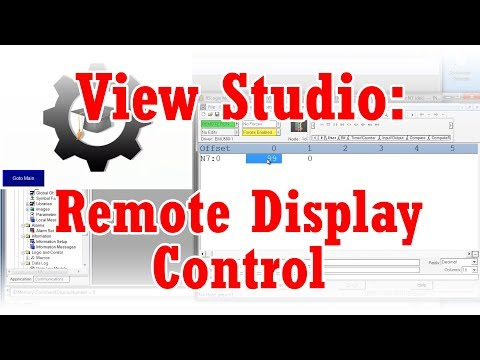 View Studio - Remote Display Control with Global Connections