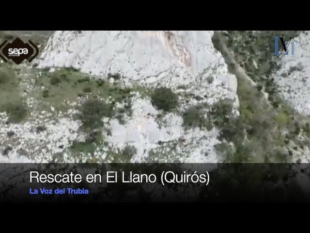 Rescate en El Llano, Quirós