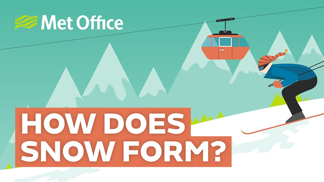 How does snow form? - YouTube